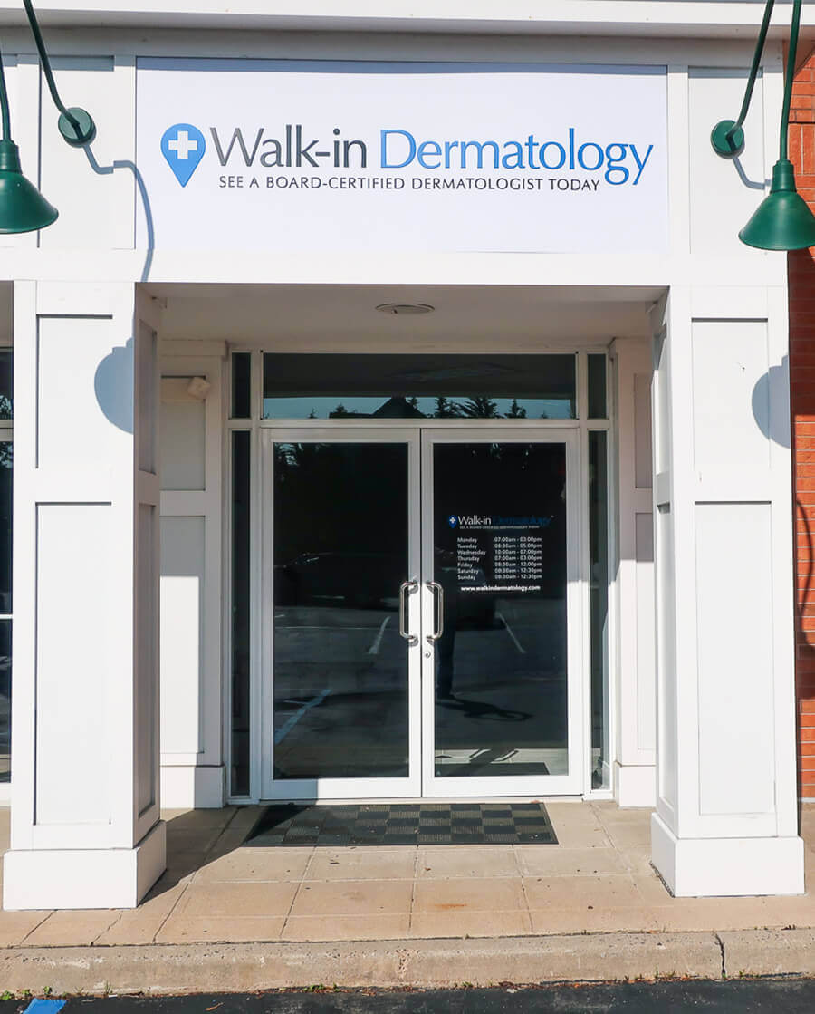 Walk-in Dermatology - See a board-certified dermatologist today